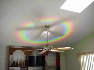 Rainbow fan-1