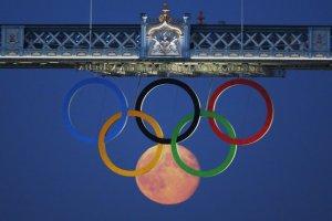 2012 Olympic moon